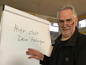 Helge Max Jahns am FlipChart